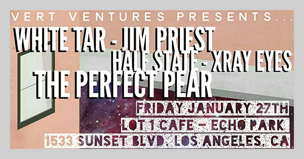 Jim Priest @ Vert Ventures Presents, Lot 1 Cafe