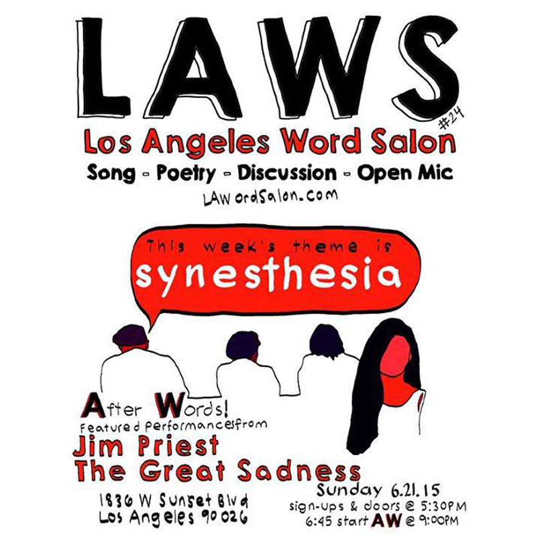 Jim Priest - L.A. Word Salon at Rafa's